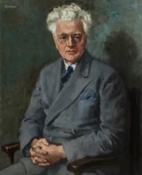 William Conor's painting of St John Ervine