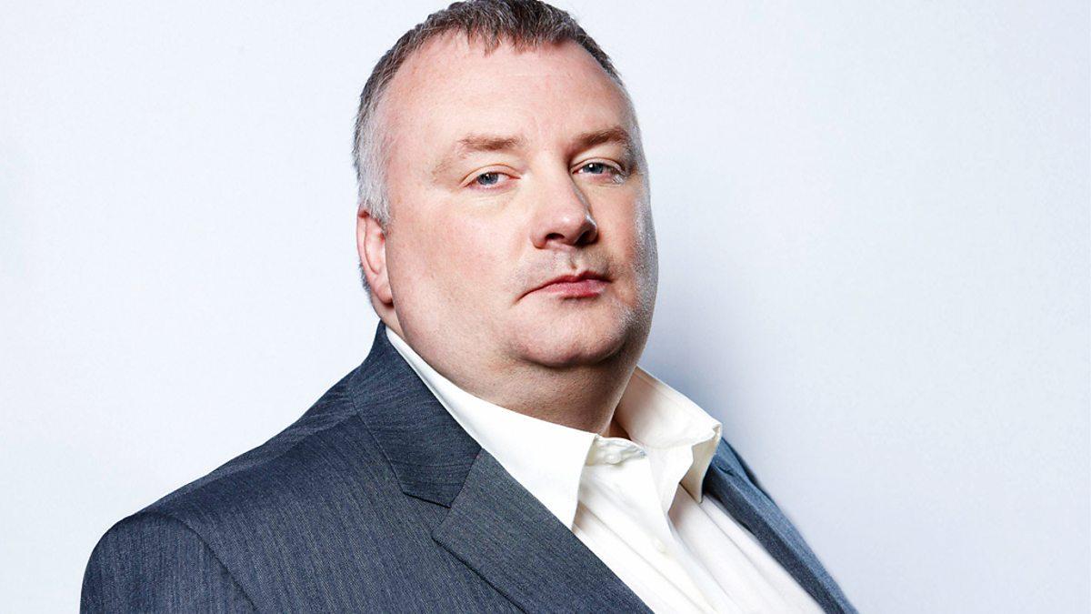 BBC broadcaster Stephen Nolan